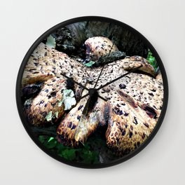 This Freaks Me Out a Bit Wall Clock