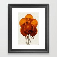 SKULLOONS B21 Framed Art Print