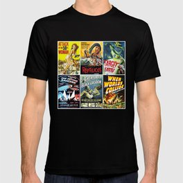 50s Sci-Fi Movie Poster Collection No. 1 T-shirt
