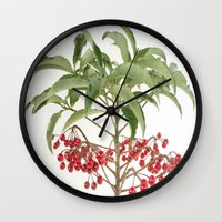spice Wall Clocks featuring Spice Berry  by taiche