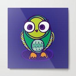 Olivia the Owl Metal Print