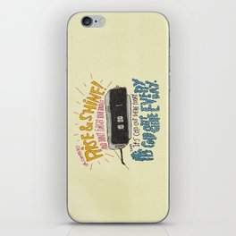 GROUNDHOGGIN' Y'ALL iPhone Skin