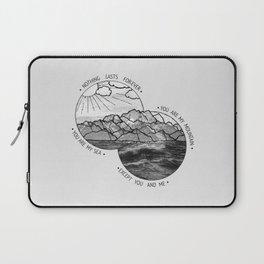 mountains-biffy clyro Laptop Sleeve