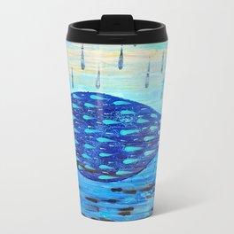 Black Rain Travel Mug