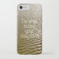 soul iPhone & iPod Cases featuring Soul by Alice Gosling