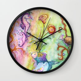 Magical Sea Kingdom Wall Clock