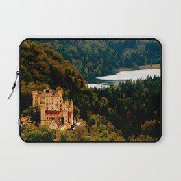 Castle under mountains Laptop Sleeve