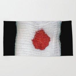 Bloodstained Gauze Beach Towel