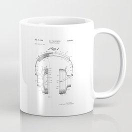 Headphones Patent Coffee Mug
