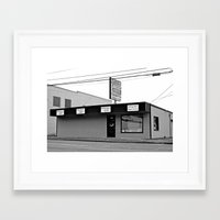 discount Framed Art Prints featuring Discount appliance shop by Vorona Photography