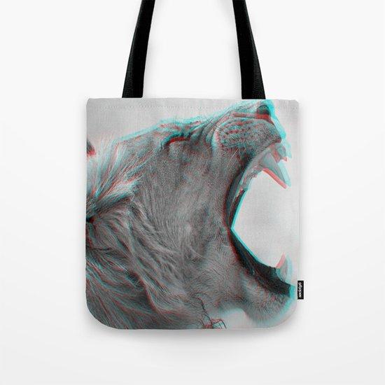 3D LION 4 Tote Bag
