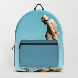 Lonely old man Backpack