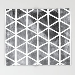GEOMETRIC SERIES I Throw Blanket
