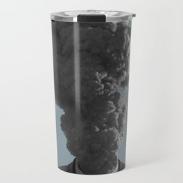 badass volcano Travel Mug