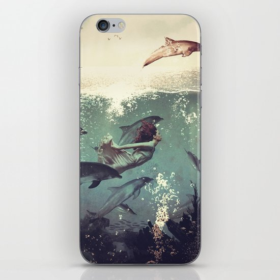My favourite morning race iPhone & iPod Skin
