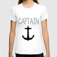 captain silva T-shirts featuring Captain by Nicolekay