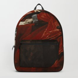 Anthony van Dyck - Portrait of Agostino Pallavicini Backpack