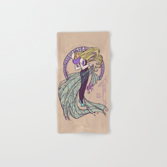 Spider Nouveau Hand & Bath Towel