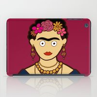 frida kahlo iPad Cases featuring Frida Kahlo by evannave