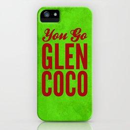 Glen Coco Xmas iPhone Case