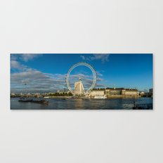 Thames River Panorama Canvas Print