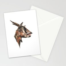 Salivating Goat Stationery Cards