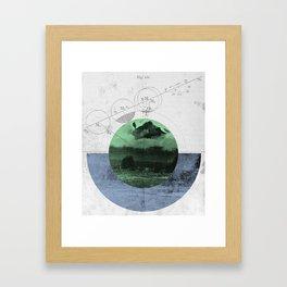 Geomatica Framed Art Print