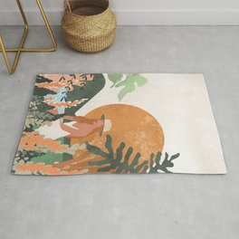 Nature lover #art print#society6 Rug