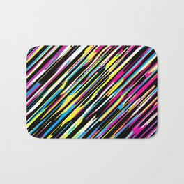 Diagonals color mix Bath Mat