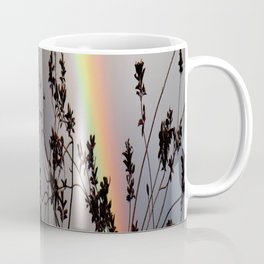 Rainbow Silhouette Square Coffee Mug