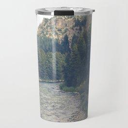 The Montana Collection - A River Runs Through It - Gallatin Canyon Travel Mug