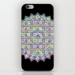 1 Billion Dollars Geometric Black Bling Cash Money iPhone Skin