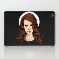 lana iPad Cases featuring LANA. by paintparamore