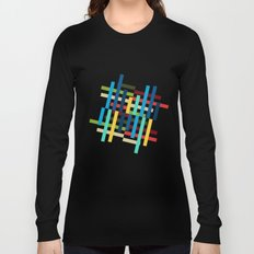 Up and Sideways Long Sleeve T-shirt