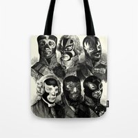 wwe Tote Bags featuring WWE 1789 by DIVIDUS