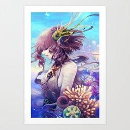 Daughter of Oceanus Art Print