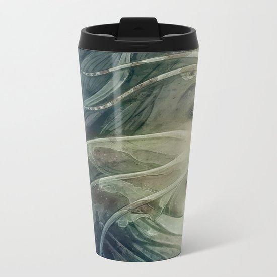 Lionfish mermaid Metal Travel Mug