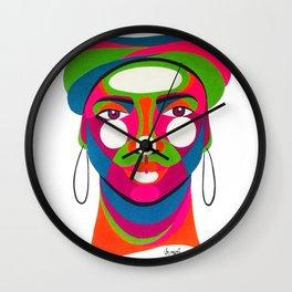 Palenquera es color Wall Clock