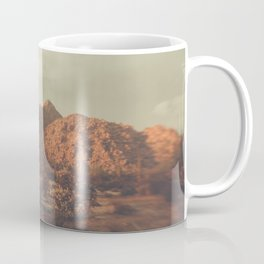 Arizona, Desert, desert photography, desert decor, mountains, sky, desert print, Phoenix, saguro Coffee Mug