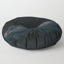 dark moon Floor Pillow