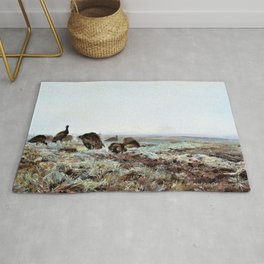 Jozef Chelmonski - Bustards - Digital Remastered Edition Rug