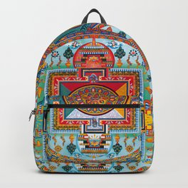 Buddhist Medicine Mandala 2 Backpack