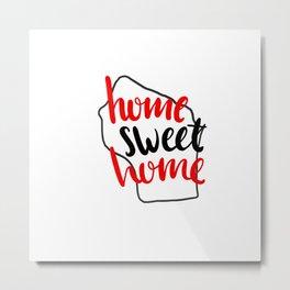 Home Sweet Home Wisconsin Metal Print
