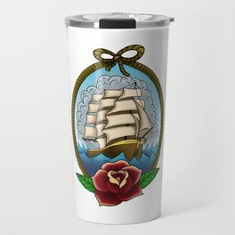 Smooth Seas Don't Make Good Sailors Travel Mug