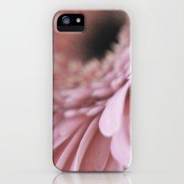 Gerbera Pink (2) iPhone Case
