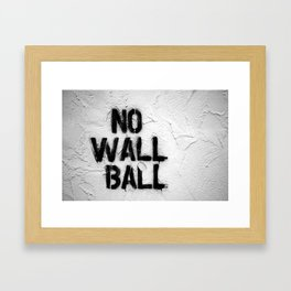 The Worst Little League Concession Stand  Framed Art Print