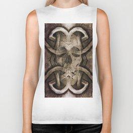 celtic skull  Biker Tank