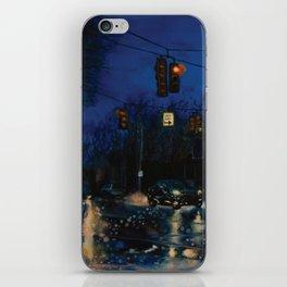 Rainy Night iPhone Skin