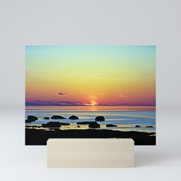 Summer's Glow Mini Art Print
