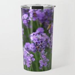 Flowers and Bees Travel Mug